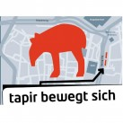 tapir bewegt sich