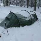 Kaitum im Schnee - Erzgebirge