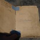 blick in die vergangenheit (altes gipfelbuch vom märchenturm)