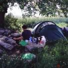 Draußen Zelten