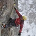 Klettern am langen Arm