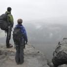Tiefblicke - trotz oder wegen des Nebels einfach schön