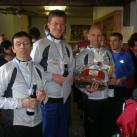 Die Laufasketen als Gewinner des 2. Marathons