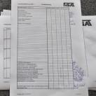 Auswertungsbogen: jeweils eine maximale Punktzahl von 150 war im Bereich Sicherheit und Montage zu erreichen