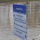 Unterwegs am Elsterflutbecken (Januar 2011)