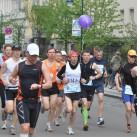 Laufgruppe 3:15 h mit Zeitläufer bei Kilometer 1