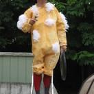 Besucher des Badewannenrennens 2008 haben ihn bestimmt wieder erkannt - unser Vogelgrippe-Huhn