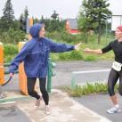 Frauenpower auf dem Keilberg - Staffelwechsel der Voltaren-Engel nach dem neuen Streckenrekord
