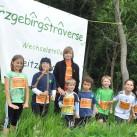 Kleine Läufer ganz groß: die diesjährigen Teilnehmer an der Kinderstaffel