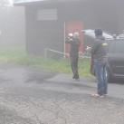 ...zur Staffel hüllte der Berg sich in Nebelfetzen und zeigte sich sturmumtost