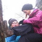 Trekkingschuh - auch im Elbsandstein gut zu nutzen