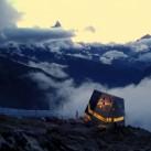 Monte Rosa Hütte mit Matterhorn