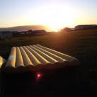 Sonnenuntergang bei Patreksfjördur