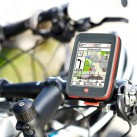 IBEX30 mit mitgelieferter und montierter Fahrradhalterung
