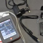 IBEX30: Zubehör (Gerät, Anleitung, USB-Kabel, Netzsteckerkabel, Rückenplatte und Fahrradhalterung)