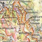 Kartendetail: Böhmkarte mit Kennzeichnung einer Gefahrenstelle