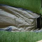 Bivy Tent aufgestellt