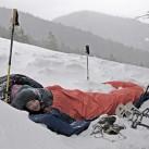 Biwakieren im Schnee