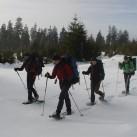 Unterwegs mit Schneeschuhen