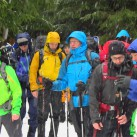 von unten Schnee von oben Regen - unterhalb von 700m im Harz