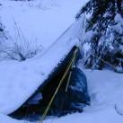 Wintercamping - wer braucht schon ein Zelt im Schnee?