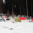 Zeltplatz Schierke im Winter