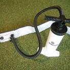 Heimplanet Pumpe: Es gibt einen Adapter zur kraftschlüssigen Verbindung mit dem Ventil
