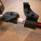 Das simple und robuste Black Diamond Flick Lock Verstellsystem