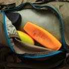 Besonders nützlich auf langen Touren: die Seitentaschen zur besseren Sortierung