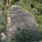 Klettern versteckt in Seitentälern im Schmilkaer Gebiet