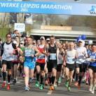 Marathonstart zum 36.Stadtwerke Leipzig Marathon