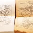Vergleich der Orientierungsskizzen: 1905 mit eingezeichnetem Wegverlauf links und 1981 die heutige geläufige Skizze (in der Ausgabe von 1981)