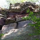 Der Fels und die Struktur in Nebra