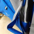 Zur Entlastung der Füße: Steigbügel bei der Osprey Poco Premium