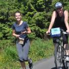 Radbekleidung hoch zum Keilberg