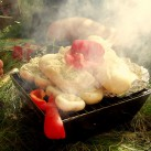 Bild 15: professionelles vegetarisches Hochstapel-Grillen mit Kristina