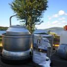 Bild 20: Wasserkessel vor nordschwedischem Panorama von Ingo