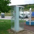 Bild 5 : Optimaler Windschutz fürs Käffchen am frühen Morgen bei Genf von Christof