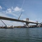 Brückenschlag nach Europa - die neue Brücke über die Donau zwischen Vidin und Kalafat ©facing europe