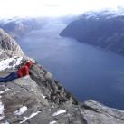 Bild 16: Am Preikestolen in Norwegen von Melanie