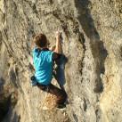 Im leicht hängenden Gelände mit guter Performance