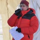 Professional Down Jacket von Yeti: wärmt nicht nur auf den Expeditionen auf den Begen dieser Erde sondern auch wenn es mal wieder länger dauert (hier beim Miriquidi 2011)