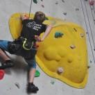 Freunde des Sächsischen Kletterns machen sich auch in der Halle gut