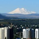 Fernblick zum Elbrus