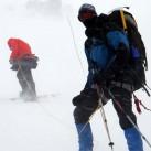 Wetterkapriolen am Elbrus: Nebel...