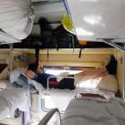 Nach der Landung in Kiew reist ein Teil  der Gruppe (Florian im Bild) mit dem Zug weiter nach Kislovodsk ...