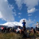 Grandioser Anblick: der weiße Riese auf dem Weg ins Lager 2 gesehen (auf den Ebenen im Norden)