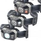 3 unterschiedliche Arten von LEDs in einer Lampe vereint: eine Quad-Power-LED und je zwei weiße und rote Power-LEDs