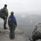 Tiefblicke im Elbsandstein - Trotz Nebel einfach schön