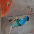 Bewegungstalent ist beim Bouldern gefragt